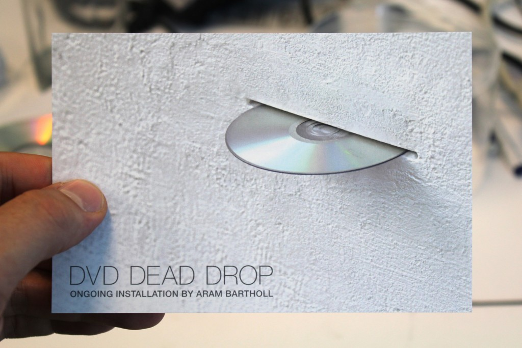Aram Bartholl, DVD Dead Drop