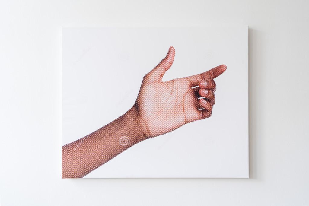 Aram Bartholl, Isolated On White (series)