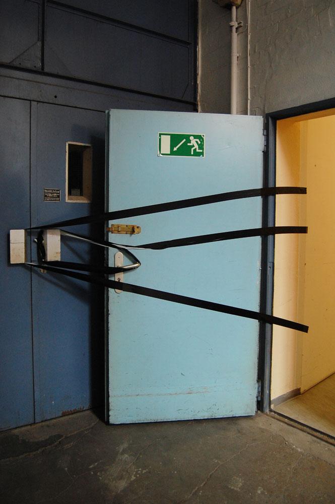 taped-doors